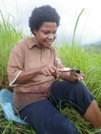 Serena Billy PNG local resident researcher